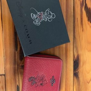 Disney COACH wallet